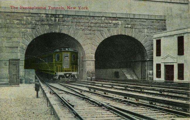old tunnels